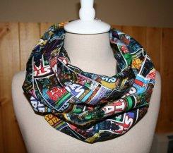 star wars comic book infinity scarf