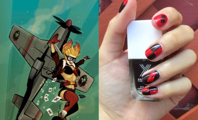 Harley Quinn Mani Tutorial