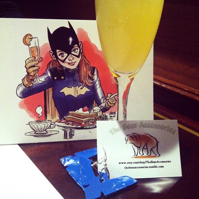 GGB NYC – Brunch Like Batgirl