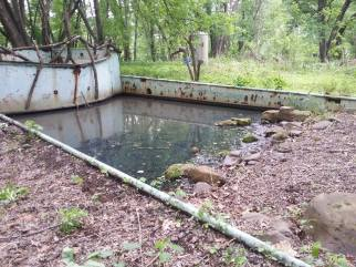 Believe it or not, this is an old pool