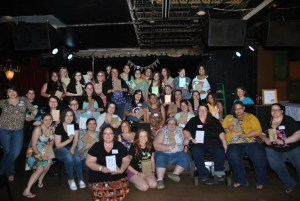 Our wonderful 39 ladies and their books!