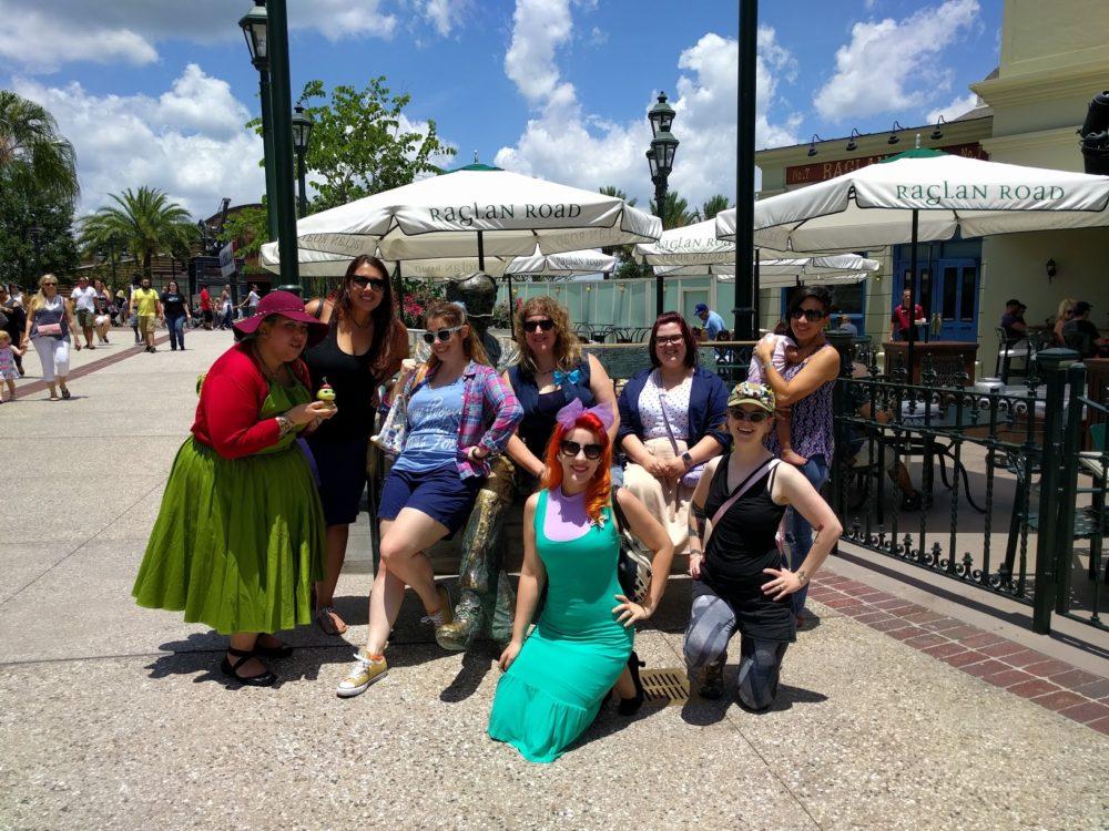 GGB Orlando – Disneybounding Brunchettes at Disney Springs' Raglan Road