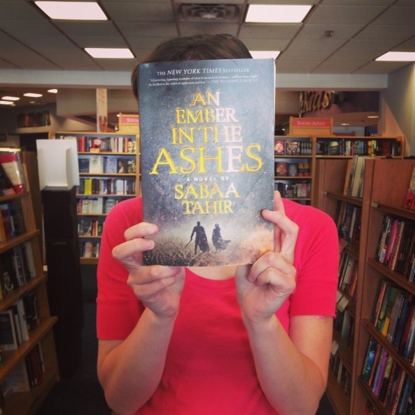 Susan's pick: An Ember in the Ash by Sabaa Tahir