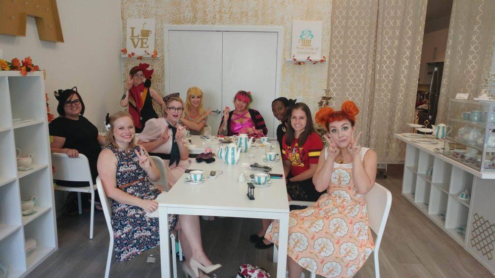 GGB Orlando – Has a Magical Girl tea party!