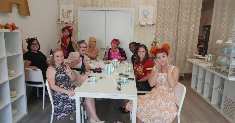 GGB Orlando – Has a Magical Girl tea party!