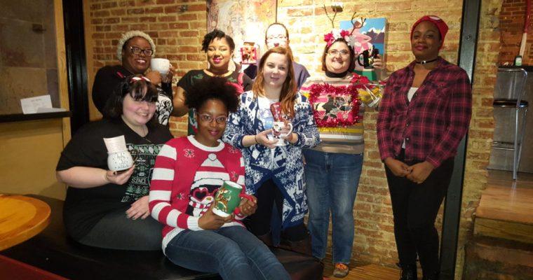 Ugly Sweater/Mug Swap: GGB Baltimore goes Holiday