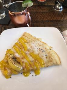 Lemon Curd & Lavender Crêpe