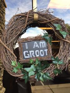 I Am Groot wreath
