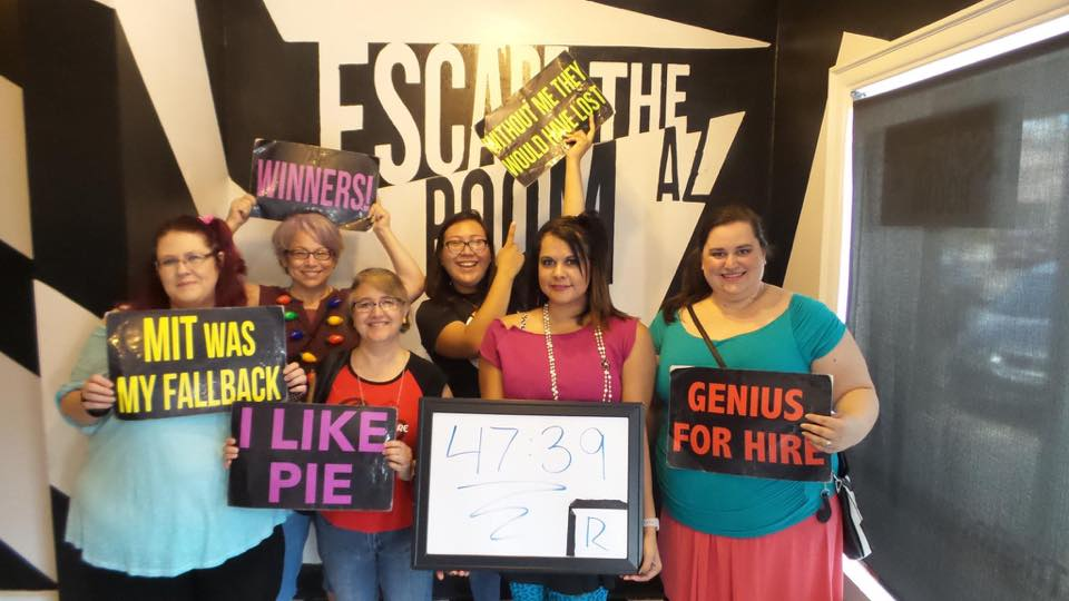 Escape the Room Winners