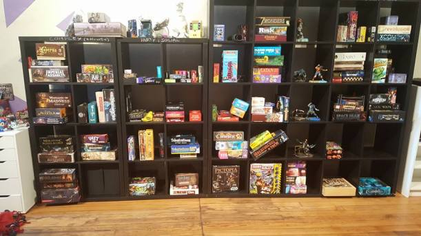 All the table top games!