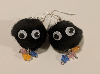 Soot Sprite Earrings