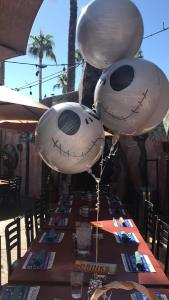 Jack Skellington ballons