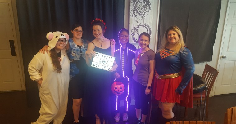 Geek Girl Brunch Gainesville Enjoys Tricks and Treats