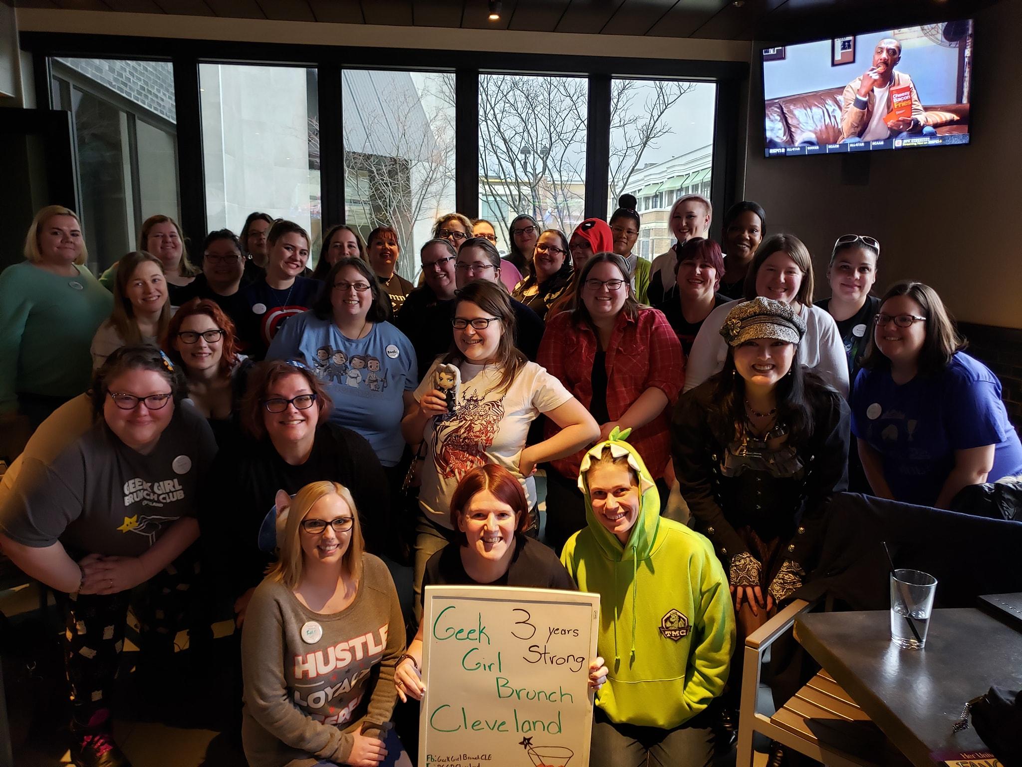 Geek Girl Brunch Cleveland – Celebrate Your Fandom (Our 3rd Anniversary Brunch!)
