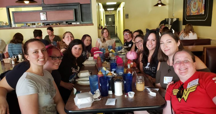 Geek Girl Brunch Gainesville Goes Super