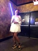 Jamila as (Harajuku) Princess Leia