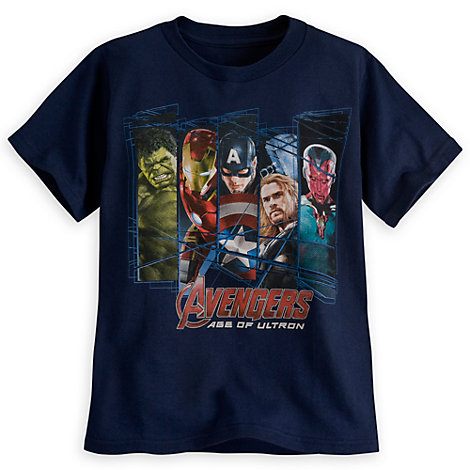 Marvel Avengers tee for boys. Image source: Disney Store