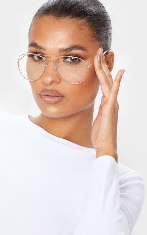 Women Aviator Titanium Oversized Reading Eyeglasses UV400