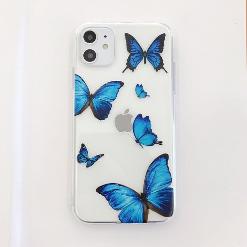 Ladies butterfly phone cover
