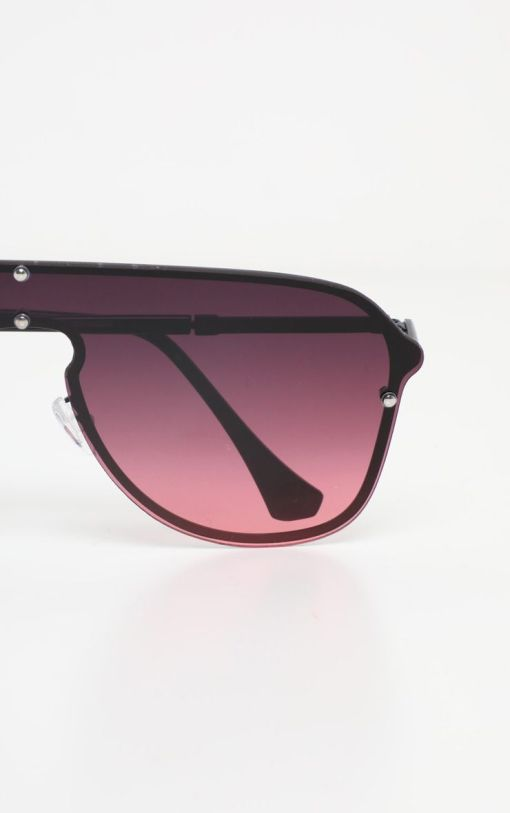 Brown gradient aviators womens sunglasses Cma2031 3