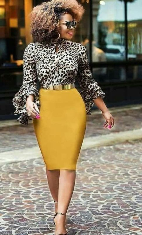 Animal Print With A Pop Of Colour Style 1