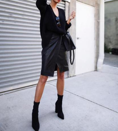 Winter Night Out Outfits 1