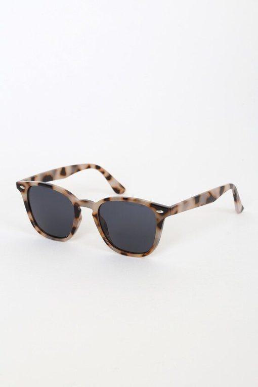Round Tortoise Shell Sunglasses For Womens