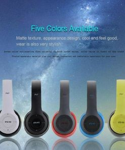 Multifunctional Wireless Stereo Bluetooth Headphone MP3 Player FM Radio Headset for iOS Android Men Women
