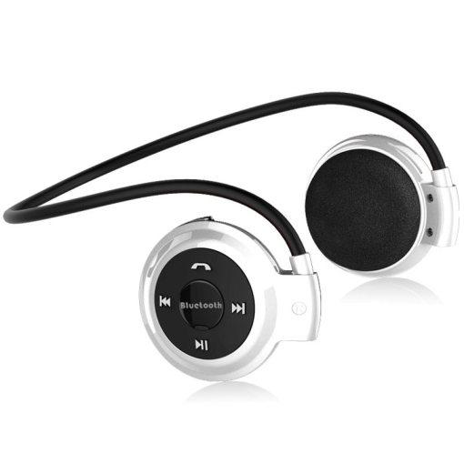 Aimitek Sport Wireless Bluetooth Headphones Stereo Earphones Mp3 Music Player Headset Earpiece Micro SD Card Slot Handsfree Mic