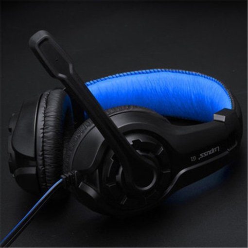 Original LPS G1 Music Super Bass Gaming Headset casque Audio Earphone Light Headphone with Microphone for Computer PC gamer