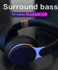 Tourya Wireless Headphones Bluetooth Headset Foldable Stereo Adjustable Earphones With Mic for phone Pc TV Xiaomi Huawei iphone