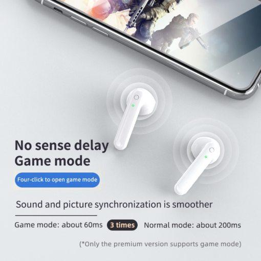 Q5 TWS Bluetooth 5.0 Wireless Waterproof In-ear Earphones Smart-Touch Headphone