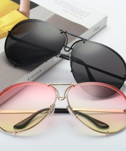 Retro Round Metal Sunglasses Womens