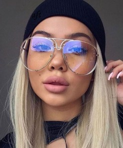 2020 New Fashion Pilot Sunglasses Women Oversized Luxury Sun Glasses For Female Cool Mirror Vintage Lady Gradient Shades UV400