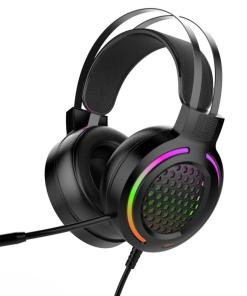 Gaming Headset 7.1 Surround Sound USB 3.5mm Wired RGB Light Gaming Headphones With Microphone For Tablet PC PS4 Gamer
