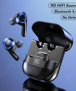 TWS Bluetooth 5.0 Earphones Wireless Headphones Noise Canceling 9D HIFI Stereo Earbuds Music Headsets With Microphone For Phones