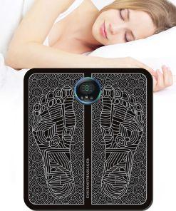 tens fisioterapia foot massager mat massageador pes muscular Electric EMS Health Care relaxation terapia fisica massage salud