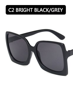2020 Fashion Oversized Sunglasses Women Brand Designer Plastic Female Big Frame Gradient Sun Glasses UV400 gafas de sol mujer