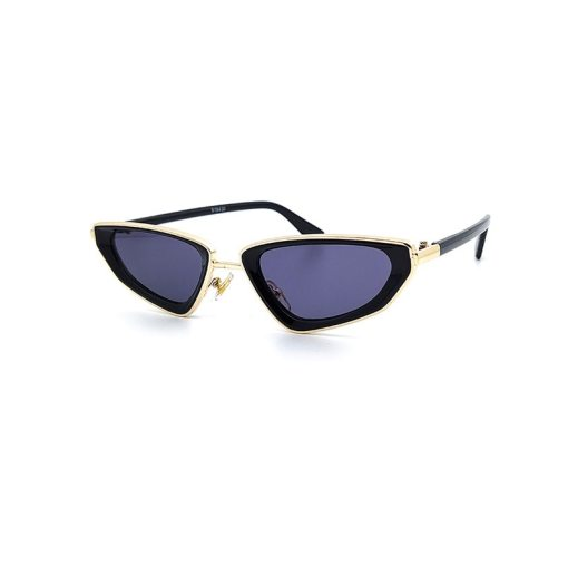 New fashion thick-sided double circle sunglasses, ladies all-match retro triangle glasses, men's trendy sunglasses