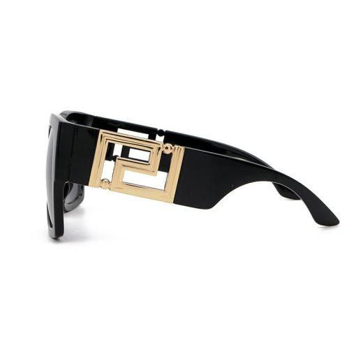 Women Luxury Brand Sunglasses 2021 Ladies Designer Square Sun Glasses Men Shades Large Thick Clear Big Frame Sunglasses Black