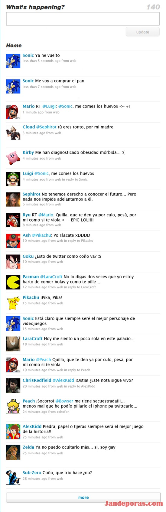 Games - Twitter