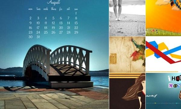 Ver Wallpapers para el mes de Agosto