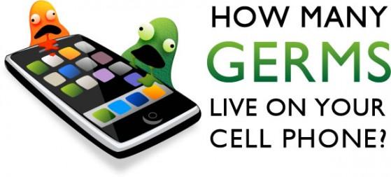 Cuantos Germenes viven en tu Celular