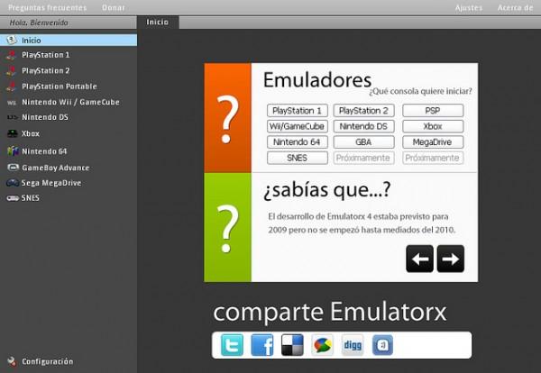 Emulatorx - Emulador multiplataforma