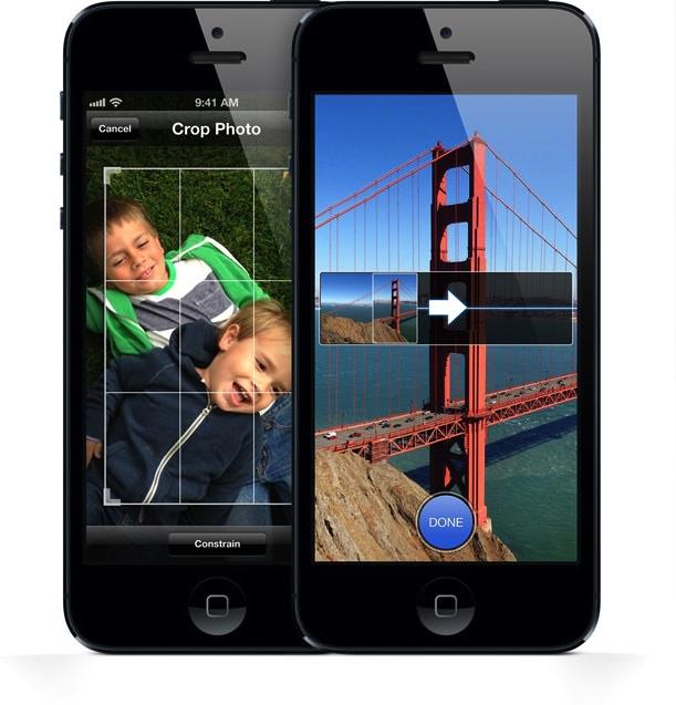 Camara iPhone 5