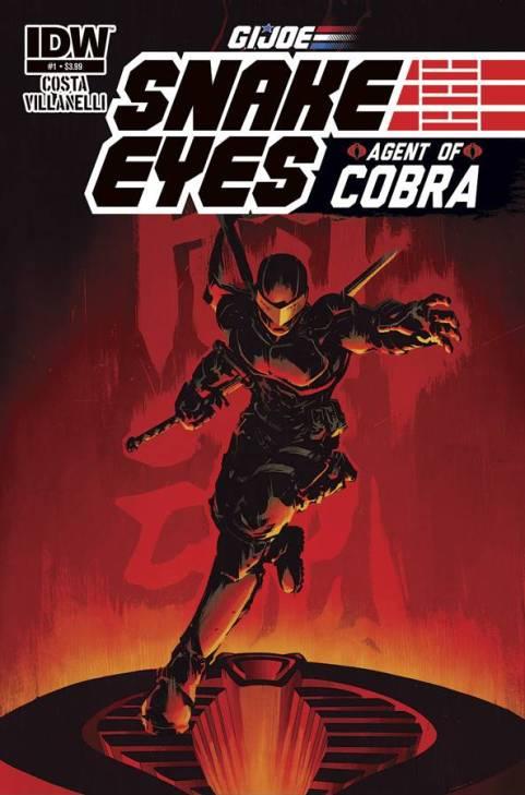 Snake Eyes: Agent of Cobra #1