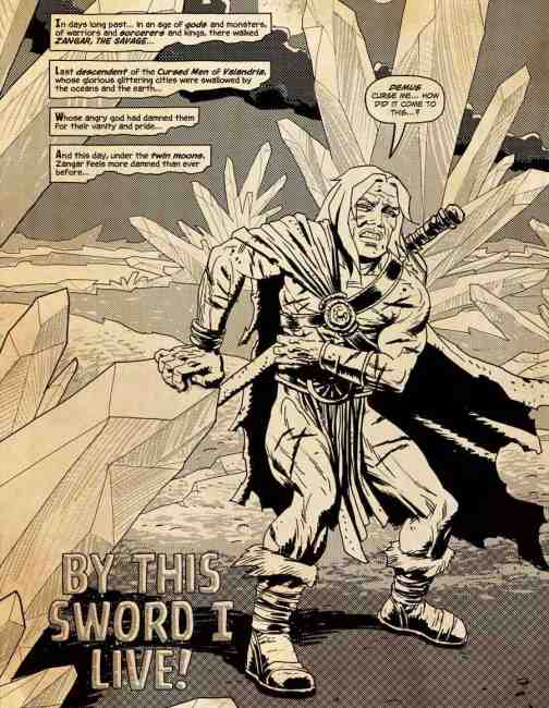 """a page from """"Savage Sword"""" by Sean Phillips."""