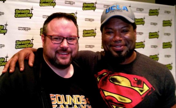 Christopher Judge makes Green look small.