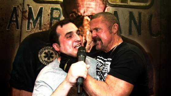 Andrew's interview with Kane Hodder doesn't go as smoothly as planned.