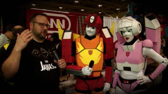 The Cybertronic Spree was just one of the great musical acts Geek Hard spoke with this past September. Check out the video to see them all!